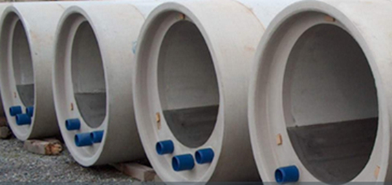 Image of the sewer element called Rabtherm series 1, which is used in heat recovery from sewage.