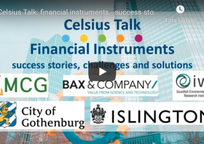 Webinar: Financial instruments and success cases
