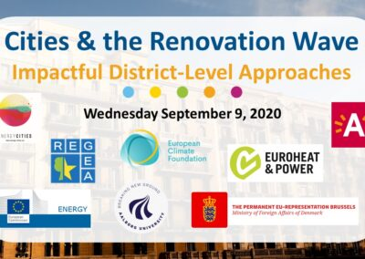 Webinar: Cities & the Renovation Wave – Impactful District-Level Approaches