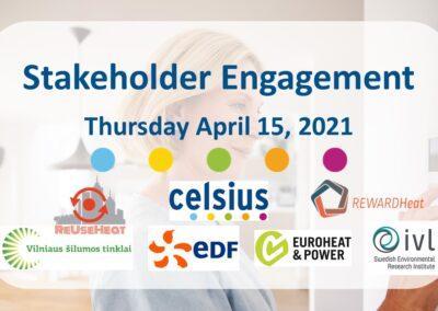 Celsius Talk on Stakeholder Engagement