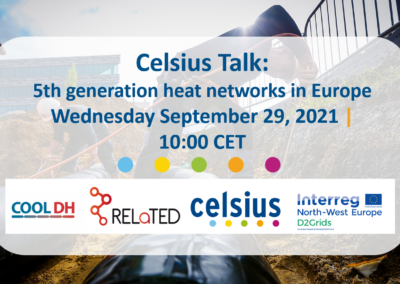 Celsius talk: 5th generation heat networks in Europe